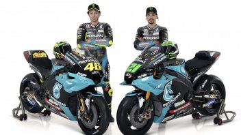 MotoGP: ALL THE PHOTOS - Rossi and Morbidelli's Yamaha Petronas