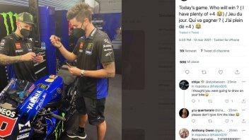 MotoGP: Per Quartararo una giornata da numero UNO...a carte!