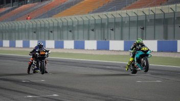 MotoGP: Losail Test: Rossi gives starting repetitions to Luca Marini