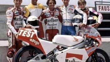 MotoGP: Rossi ricorda il primo test in 125cc con Capirossi e Fausto Gresini