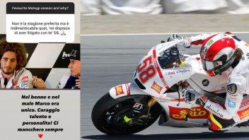 """MotoGP: Lorenzo e l'omaggio a Marco Simoncelli: """"Talento e coraggio. Era unico"""""""