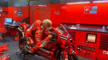 MotoGP: White-haired rookie for Ducati: Davide Tardozzi in action