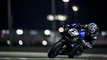 MotoGP: Test Qatar 2: Vinales guida la carica Yamaha, Morbidelli 2°, Rossi 8°