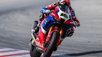 """SBK: Bautista: """"I had a motocross accident and I didn't tell Honda right away"""""""
