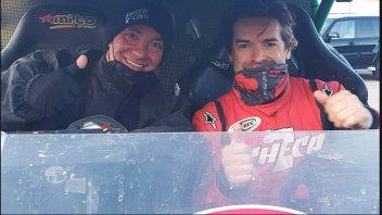 SBK: Carlos Checa terzo nella Italian Baja con la CAN AM Maverick X3