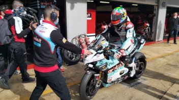 SBK: Finalmente Davies! Dopo il COVID, ecco il debutto sulla Ducati V4 di Go Eleven