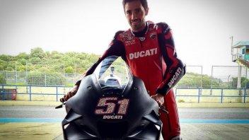 SBK: Sorpresa a Misano! Pirro sostituirà Davies sulla Ducati V4 di Go Eleven