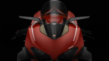 Moto - News: Rizoma Stealth: lo specchietto retrovisore che diventa un'ala aerodinamica