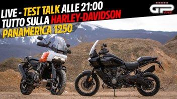 Moto - News: LIVE - Test Talk alle 21:00 - tutto sulla Harley Davidson Panamerica 1250