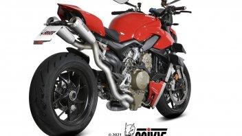 Moto - News: Ducati Streetfighter: + 7 cv in più con lo scarico Mivv Evo