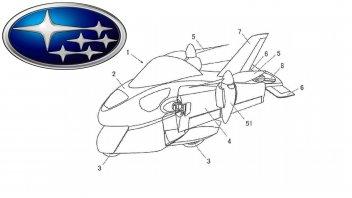 Moto - News: Subaru: in sviluppo una moto... volante
