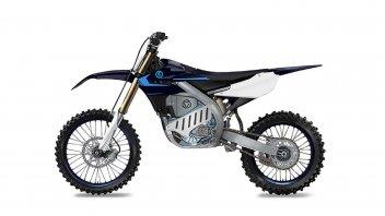 Moto - News: Yamaha EMX: la moto da cross elettrica arriva entro il 2021