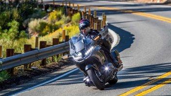 Moto - News: Honda a lavoro sullo sterzo che recupera le perdite di aderenza
