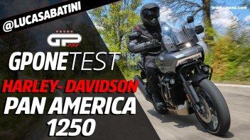 Moto - Test: Video Prova Harley-Davidson Pan America 1250, la maxi-enduro che sfida BMW GS