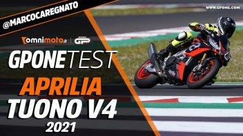 Moto - Test: Aprilia Tuono V4 Factory 2021, la prova della hyper-naked dall'animo racing