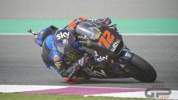 Moto2: Qatar: Bezzecchi si impone nel Warm Up, scivolata per Lowes (5°)