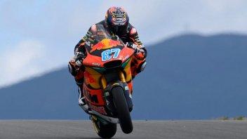 Moto2: Remy Gardner guida il gruppo nella FP1, secondo Marco Bezzecchi