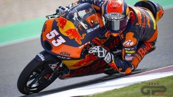 Moto3: Pozzanghere in pista a Portimao: FP1 sprecata, Oncu il più veloce