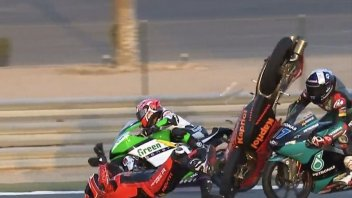 """Moto3: McPhee: """"Una moto mi ha colpito in testa e non ho reagito bene"""""""