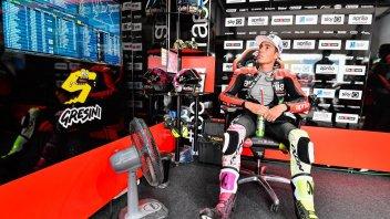 """MotoGP: A. Espargarò: """"Albesiano says Dovizioso thinks the same as me about the Aprilia"""""""