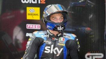 """MotoGP: Marini: """"Ho provato ad andare veloce ogni giro, l'asfalto arrivava a 60°"""""""