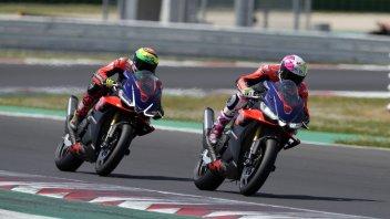 MotoGP: PHOTOS - Capirossi, Iannone, Gramigni: Aprilia stars on track at Misano
