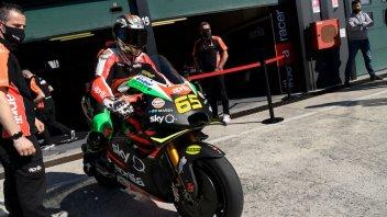 "MotoGP: Capirossi: ""Sarebbe bello avere un team satellite Aprilia-Rossi nel 2022"""