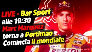 MotoGP: LIVE - Bar Sport 19:30 - Marquez torna a Portimao: comincia il mondiale