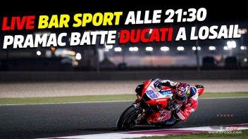 MotoGP: LIVE Bar Sport alle 21:30 - Pramac batte Ducati a Losail