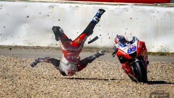 MotoGP: Martin's accident data: 7 peaks at over 20G on impact