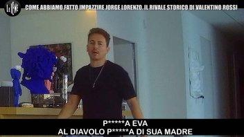 MotoGP: Lorenzo cade nella trappola de 'Le Iene' e va fuori di testa
