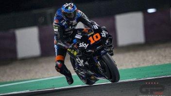 """MotoGP: Marini: """"Dovrò lavorare in palestra, per migliorare i cambi di direzione"""""""