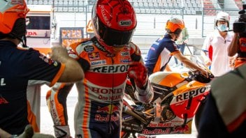 """MotoGP: Marquez: """"The hardest thing was the first laps, when I had to accept being overtaken"""""""