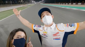 MotoGP: VIDEO - Darkness, wind, and sand: Pol Espargarò in the hell that's Qatar