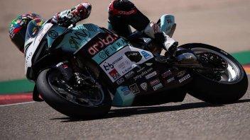 SBK: Chaz Davies sorprende le Ducati ufficiali ad Aragon, 3° Redding