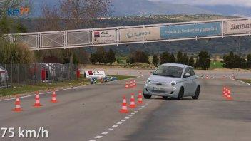 Auto - News: Fiat 500e al Test dell'Alce. L'elettrica italiana, è ok!