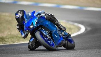Moto - News: Yamaha R7: giù i veli! Le basteranno 73 cavalli? Caratteristiche e prezzo