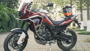 Moto - News: Dahaidao 500 GS-ADV, la copia cinese dell'Africa Twin da 3.500 euro