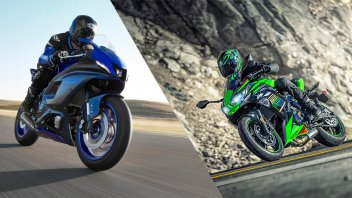 Moto - News: Yamaha R7 VS Kawasaki Ninja 650: Aprilia RS 660 non è la rivale diretta