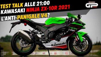 Moto - News: LIVE – Test Talk alle 21:00 – Kawasaki ZX-10R 2021: è l'Anti-Panigale V4?