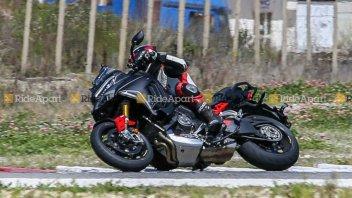 Moto - News: Ducati Multistrada V4 Pikes Peak: beccata su strada - FOTO GALLERY