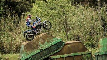Moto - News: Toni Bou e l'allenamento trial con l'Africa Twin: il nuovo video