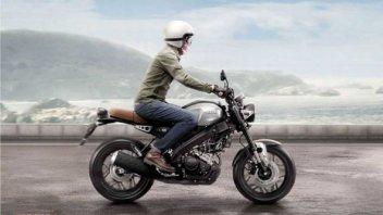Moto - News: Yamaha XSR 125 2022: il guanto di sfida a KTM 125 Duke e Honda CB125R?