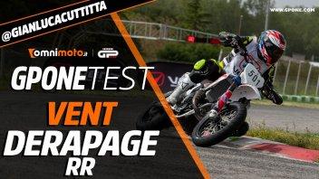 Moto - Test: Prova Vent Derapage RR, GPOne in gara col motard 2 tempi