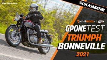 Moto - Test: Prova Triumph Bonneville T100, T120 e Street Twin: roadster eterne