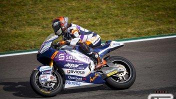 Moto2: Spunta il sole a Le Mans e comanda Canet. A terra Bezzecchi 22°