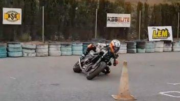 Moto3: VIDEO - Campioni si diventa: Acosta si allena a 14 anni sulla Honda 600