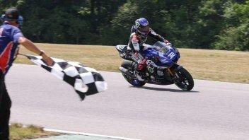 MotoAmerica: Gagne centra la terza vittoria consecutiva in Virginia davanti a Baz
