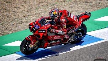 MotoGP: Doppietta Ducati a Jerez, vince Miller e Bagnaia è 1° nel mondiale