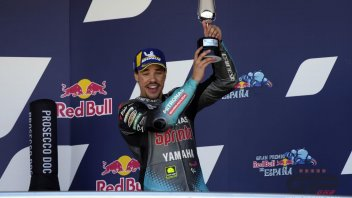 """MotoGP: Morbidelli: """"I spoke to Jarvis, I don't have the official M1 because of bad luck"""""""